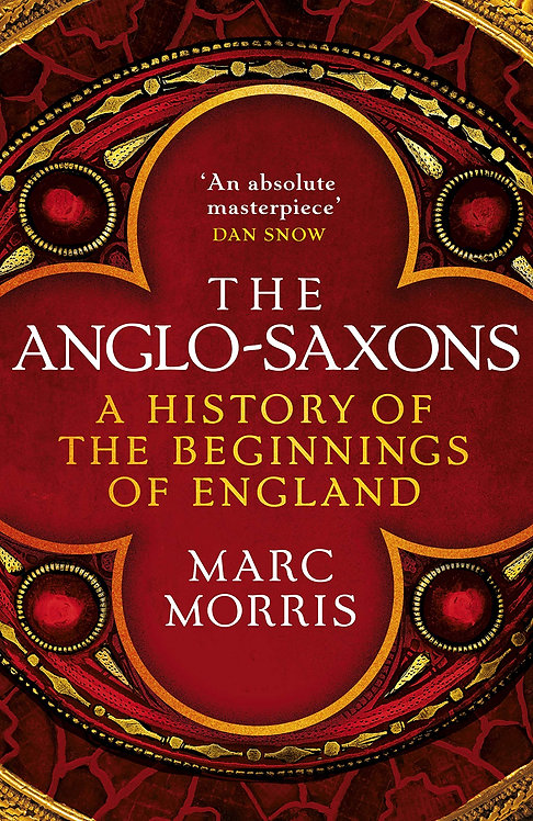 The Anglo-Saxons - with SIGNED bookplate