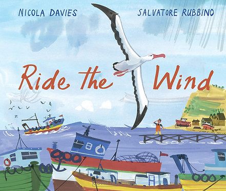 Ride the Wind - with SIGNED postcard!