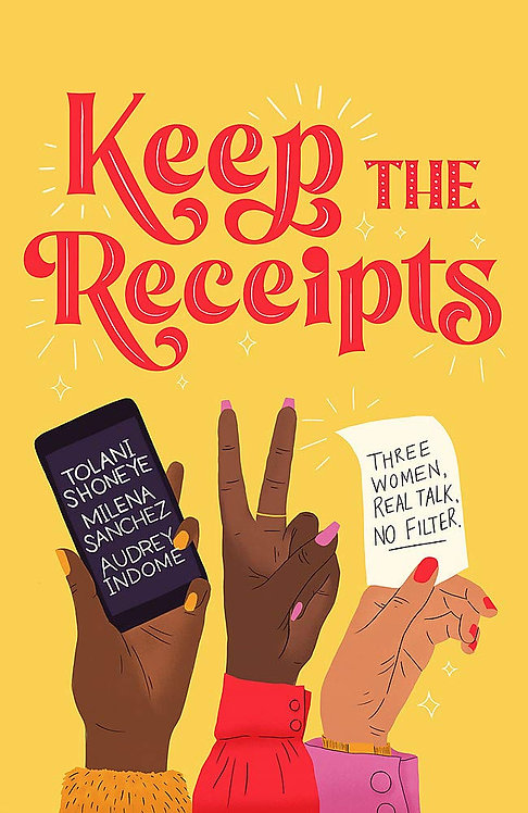 PRE-ORDER Keep the Receipts - SIGNED!