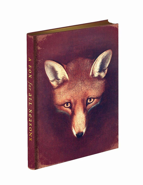 Fox for All Seasons Journal - with signed & dedicated bookplate*