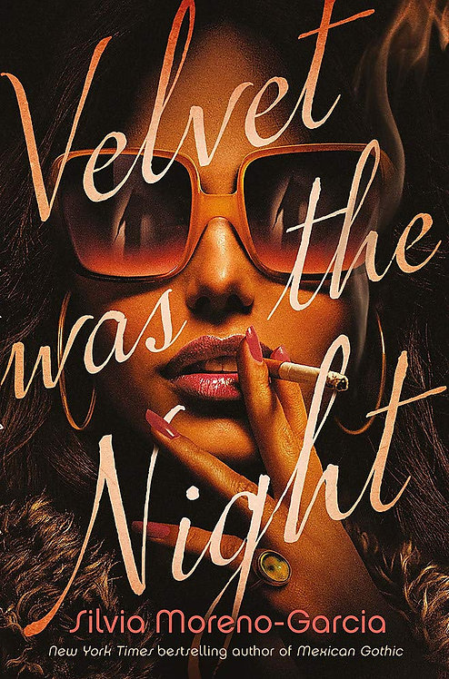 Velvet Was The Night - SIGNED 1st editions!