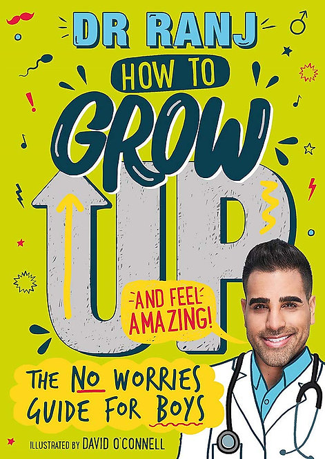 How to Grow Up and Feel Amazing - SIGNED bookplate edition!