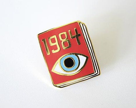 Book Pin: 1984