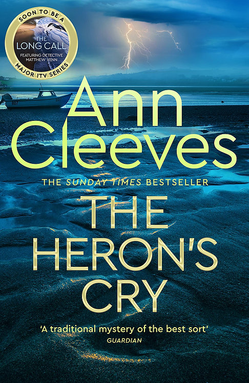 The Heron's Cry - SIGNED 1st editions!