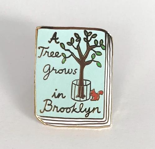 Book Pin: A Tree Grows in Brooklyn