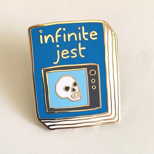 Book Pin: Infinite Jest