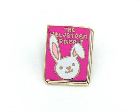Book Pin: The Velveteen Rabbit