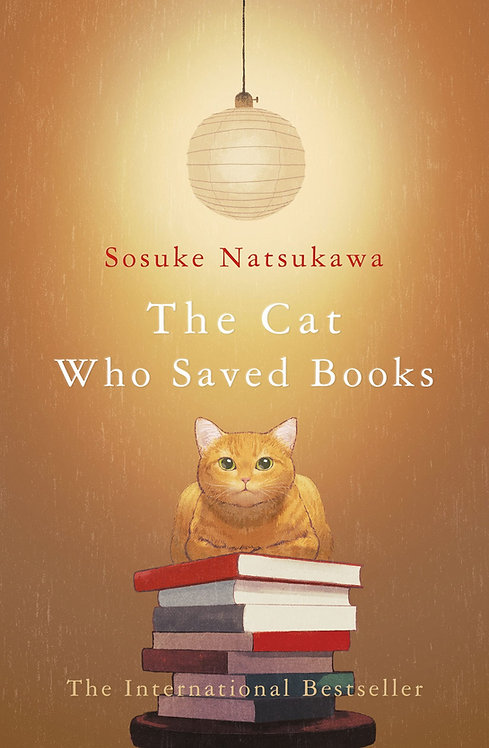 The Cat Who Saved Books (HB)