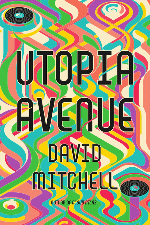 Utopia Avenue SIGNED FIRST EDITION!