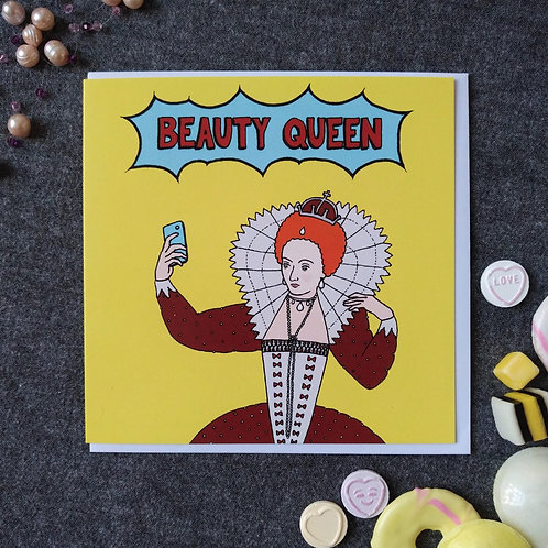 Beauty Queen card