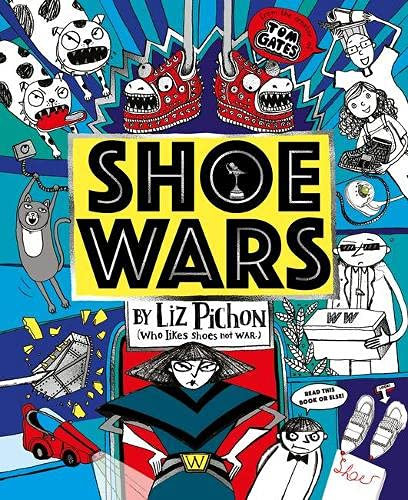 Shoe Wars (PB) - with SIGNED bookmark