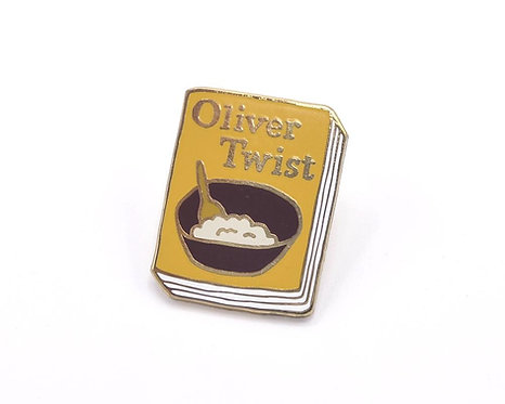 Book Pin: Oliver Twist