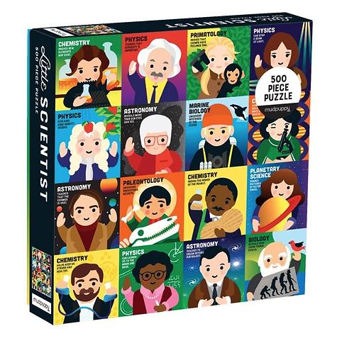 The Little Scientist 500 Piece Puzzle