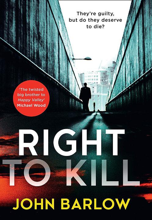 PRE-ORDER Right to Kill - 24/6/21