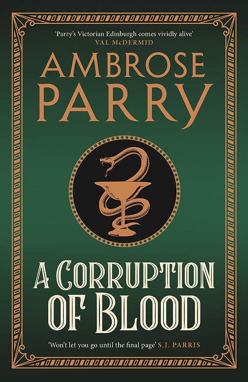 A Corruption of Blood - with SIGNED bookplate!