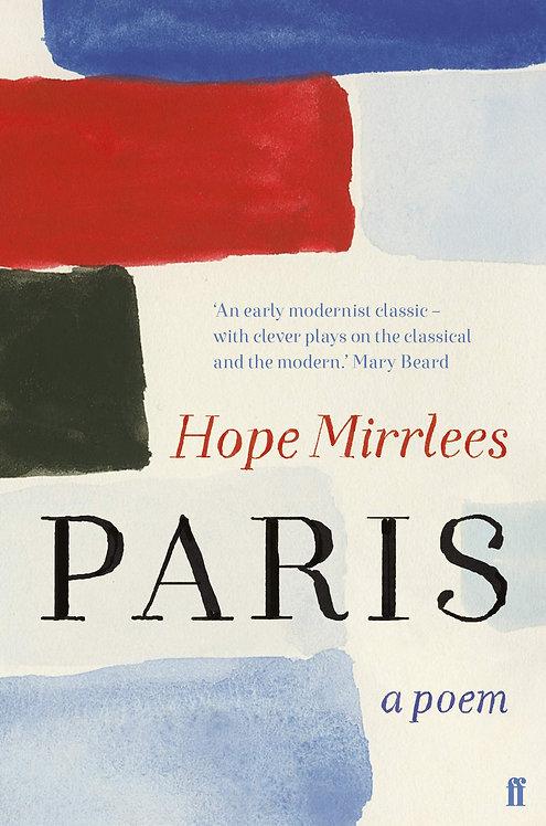 Paris: A Poem (slim hardback)