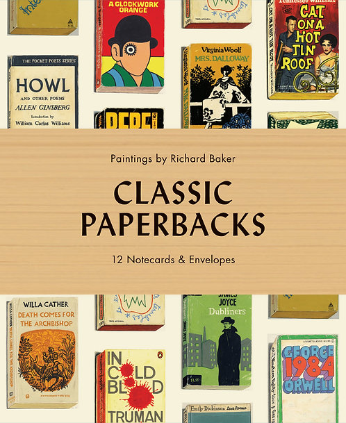 Classic Paperbacks Notecards and Envelopes