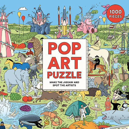 Pop Art Puzzle (1000pc)