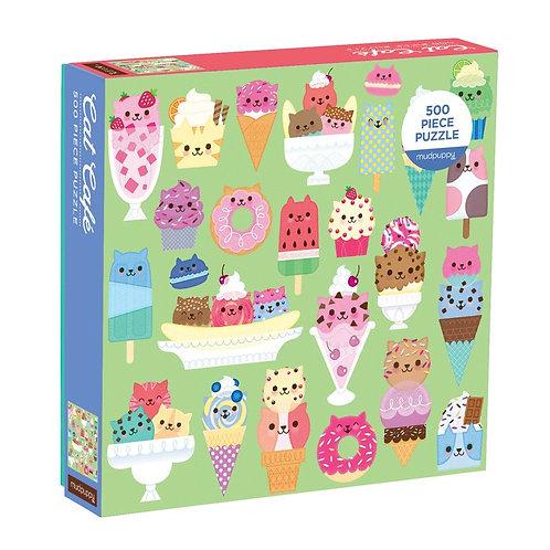 Cat Cafe 500 Piece Puzzle