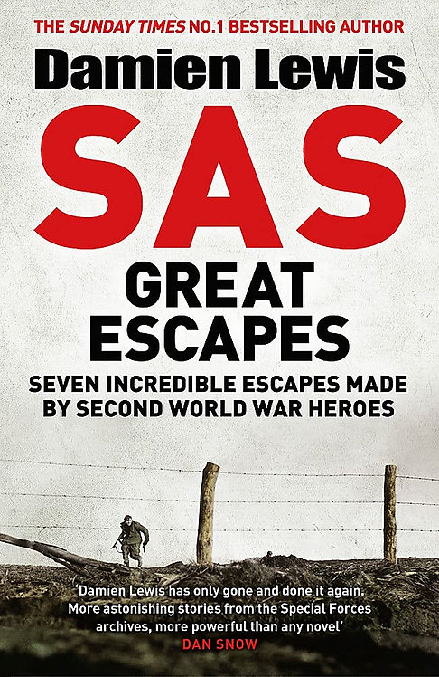 SAS Great Escapes - SIGNED 1st editions!