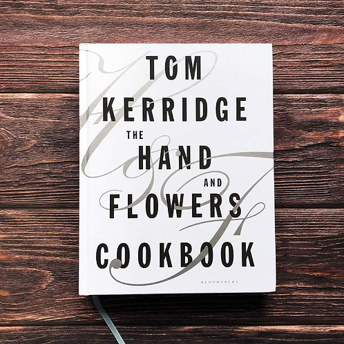 The Hand & Flowers Cookbook - with SIGNED bookplate & linen tea towel