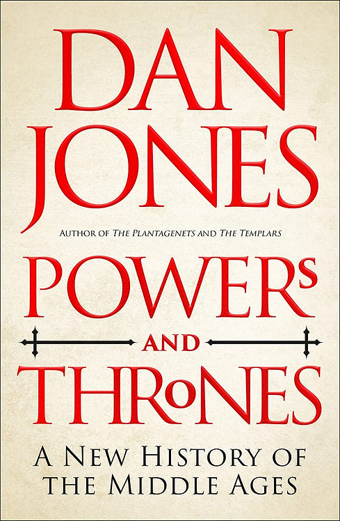 Powers and Thrones - with SIGNED bookplate!