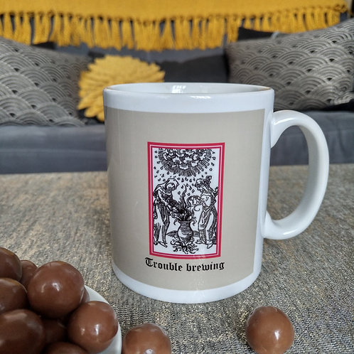 Trouble Brewing mug