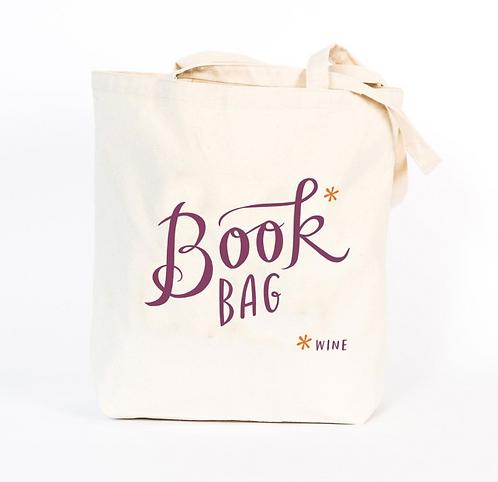 Book* (Wine) designer tote bag