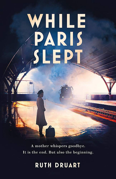 While Paris Slept - SIGNED 1st edition