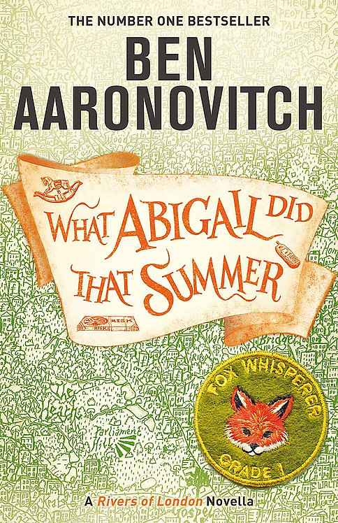 What Abigail Did That Summer - not the signed edition