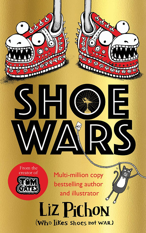 Shoe Wars - With SIGNED bookplate & FREE tote bag!