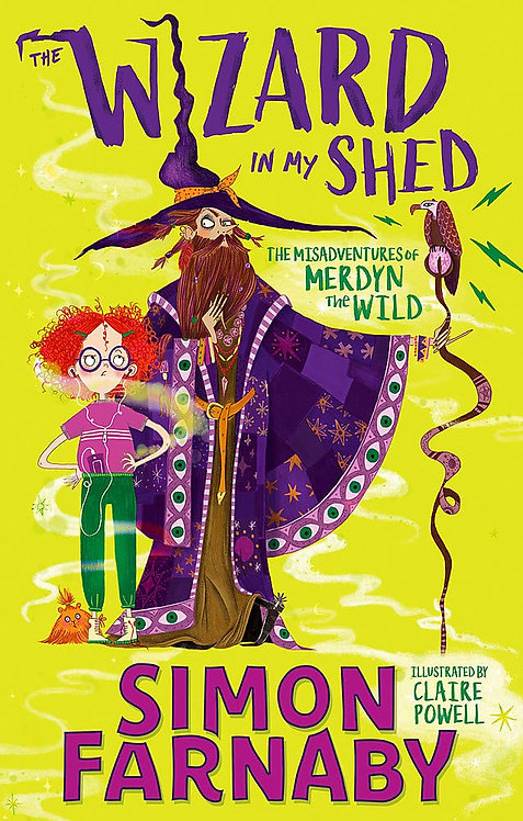 The Wizard in my Shed (PB) - with SIGNED bookplates!