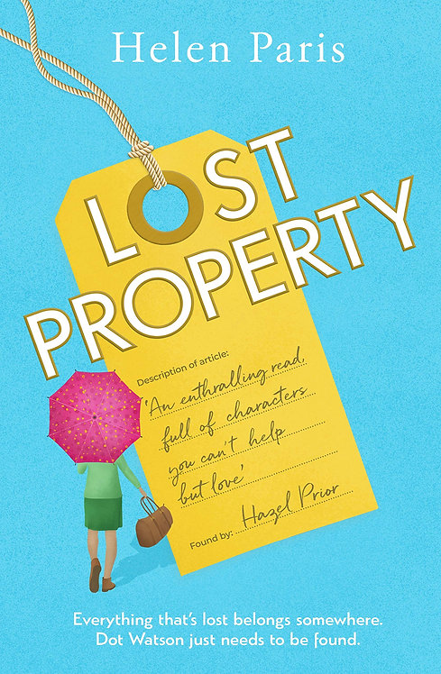 Lost Property - with SIGNED bookplate!