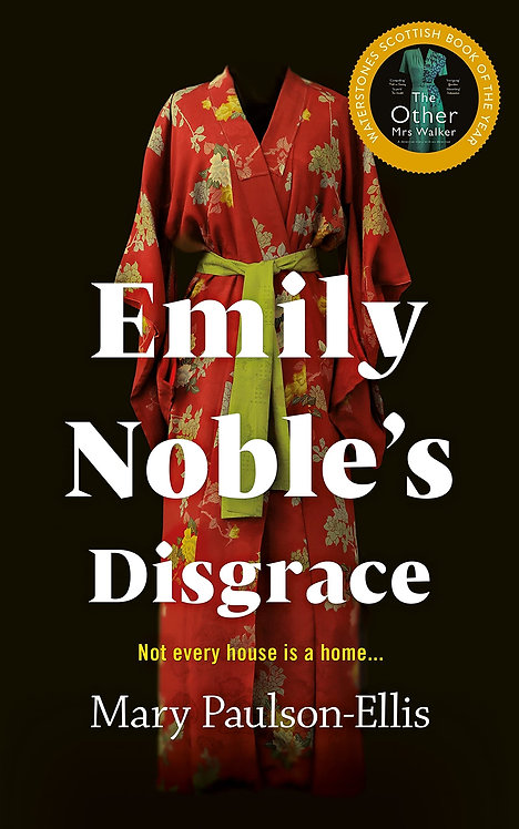 Emily Noble's Disgrace - SIGNED 1st edition