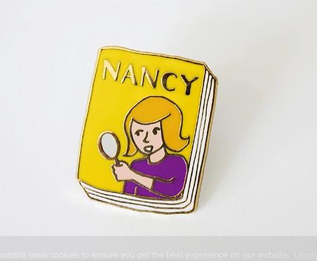Book Pin: Nancy Drew