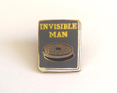 Book Pin: The Invisible Man