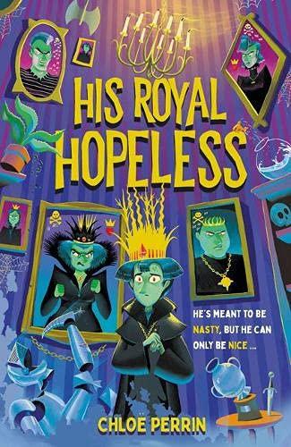 His Royal Hopeless - special sprayed-edge edition