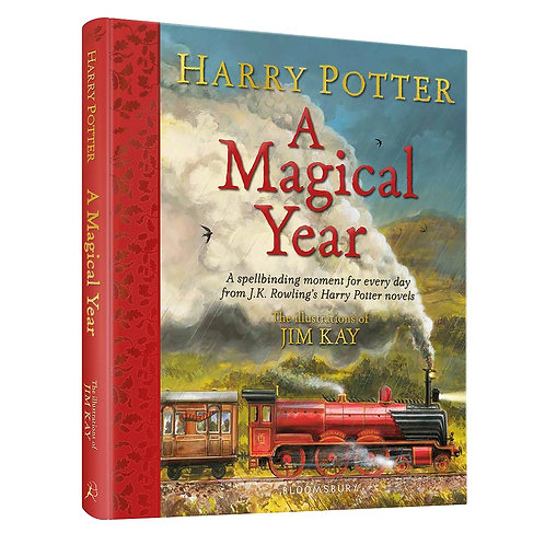 Harry Potter – A Magical Year: The Illustrations of Jim Kay - SIGNED by Jim!