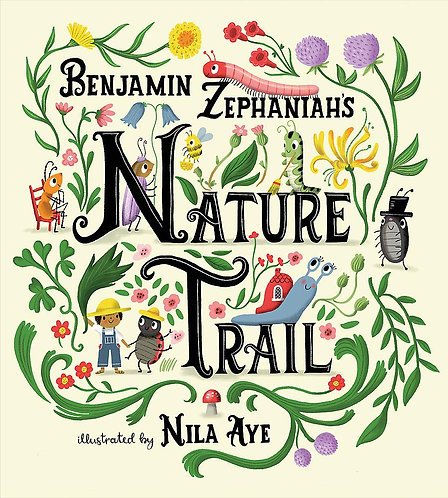 Benjamin Zephaniah's Nature Trail - NOT the signed edition