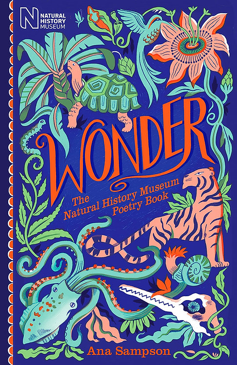 Wonder- with SIGNED bookplate and postcard from Ana