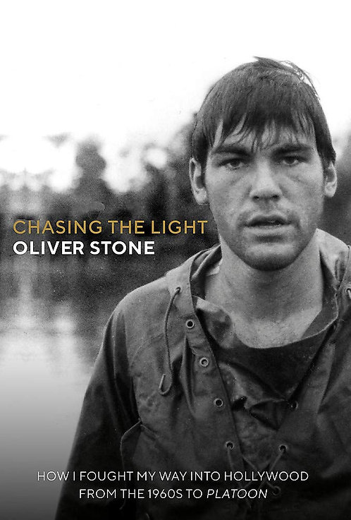 Chasing the Light SIGNED BOOKPLATE by Oliver Stone!
