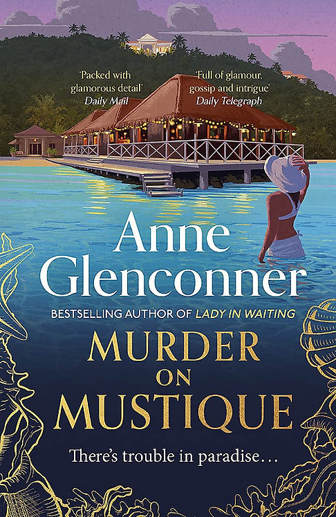 Murder on Mustique (PB) - with SIGNED bookplates!