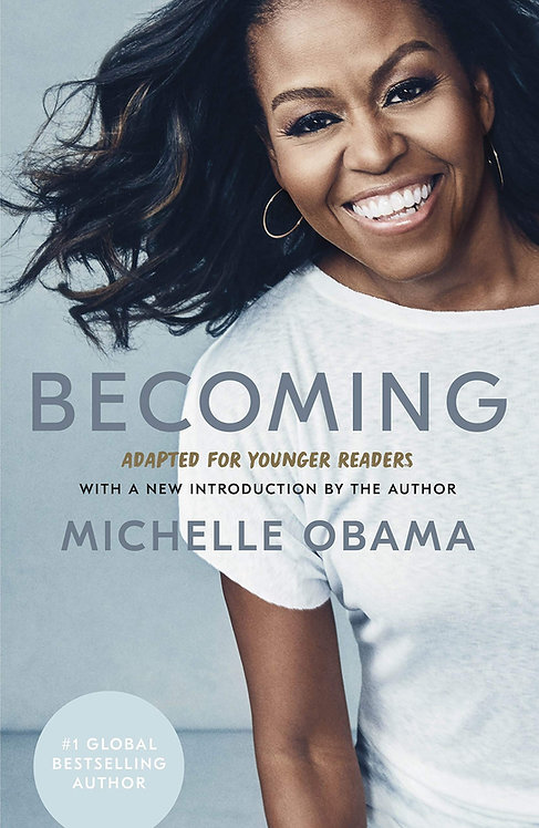 PRE-ORDER: Becoming: Adapted for Younger Readers