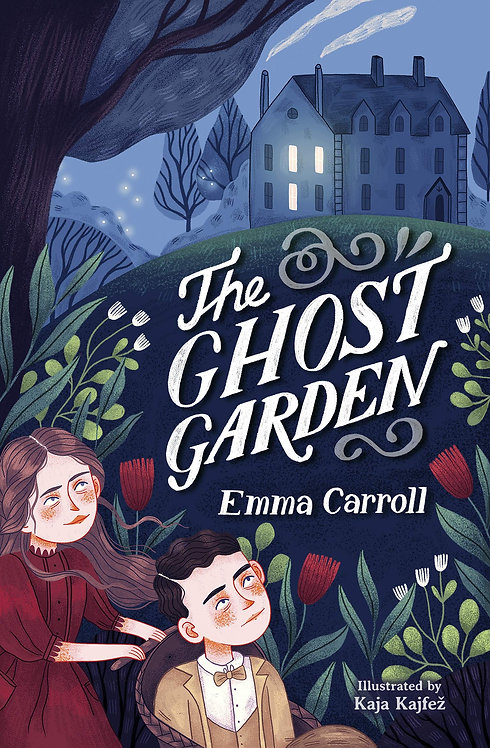 The Ghost Garden - with SIGNED bookplate!
