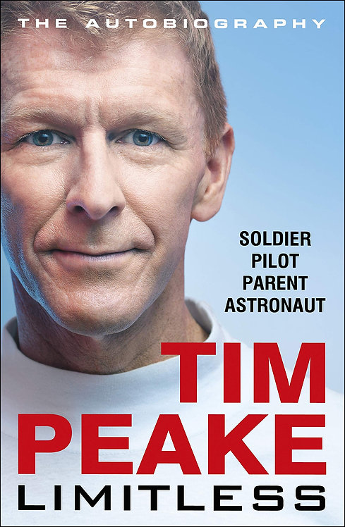 Tim Peake: Limitless - with SIGNED bookplate!