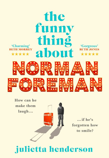 PRE-ORDER The Funny Thing about Norman Foreman - with SIGNED bookplate!