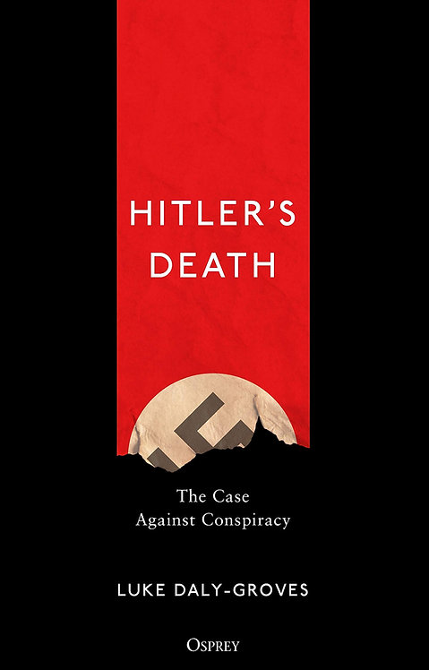 Hitler's Death- with signed bookplate!