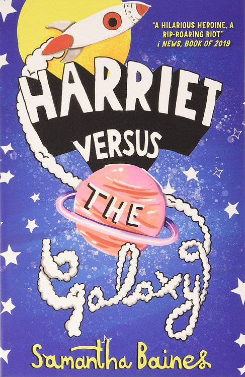 PRE-ORDER Harriet Versus The Galaxy 7/5/21