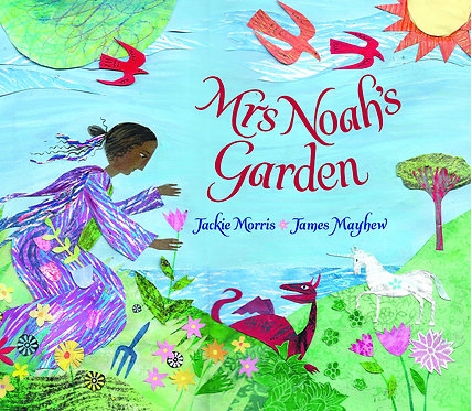 Mrs Noah's Garden - with signed bookplate!