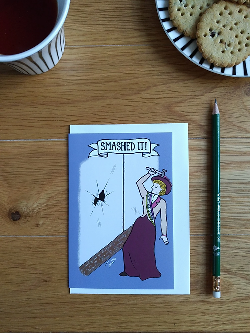Smashed It! card